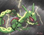 Rayquaza's Storm by Rose-Beuty