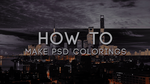 How To Make PSD Colorings || Tutorial by Evey-V