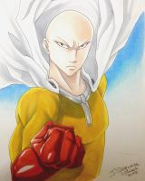 One Punch Man: Saitama by nime080