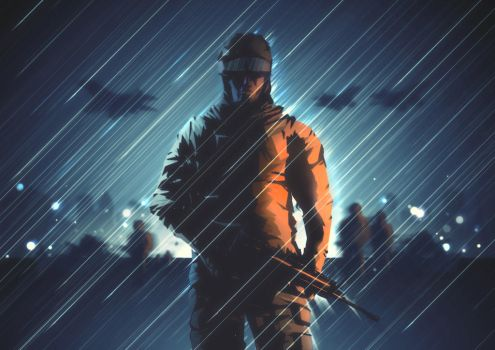 Battlefield 4 by FabledCreative