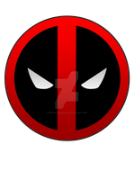 Deadpool Pin by BrittanysDesigns