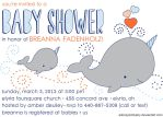 Narwhal Baby Shower Invitation by allonsykimberly