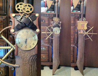 Steampunk Sword Part One by PrincessPoutee