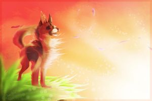 .: Only Time :.  [+ Speedpaint] by SillyTheWolf