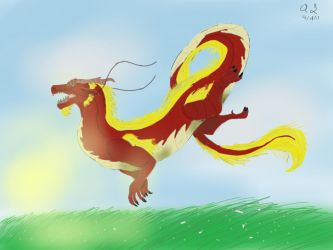 Chinese Dragon  by dragonartist14