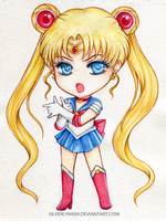 Chibi Mode: Sailor Moon by silverlynx69