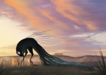 Firestorm Quest - exploring the prairie by Martith