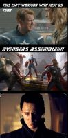 Avengers Assemble by THEDOCTOROFWHOOVES