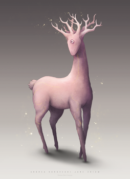 Demon Deer Concept by icecold555
