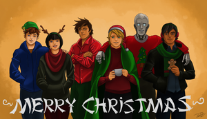 Merry Christmas from the 'Secret Ninja Force' by joshuad17