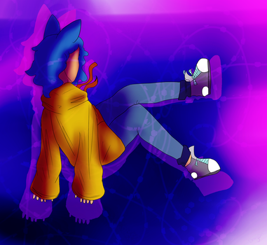 Re-Done art trade!! owo by FlameFox15
