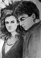 Harry Potter-Hermione by Galinaxsim