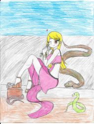 Commission The Snake Charmer by Sabrina-Icestaff