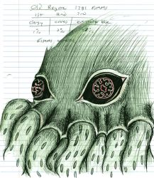 Cthulhu rises by Gref313