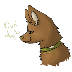 kiwi dog by LittelGrey