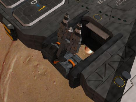 SBF Cressida  secondary weapons deployment 2 by Scifiwarships