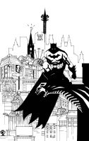 BATMAN ARKHAM CITY INKS by future-parker