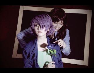 +IB+ Garry and the woman in blue by CE-Ciel