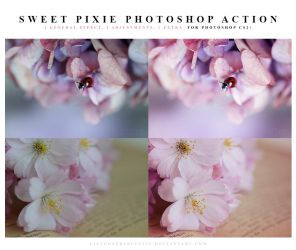 Sweet pixie Photoshop Action by meganjoy