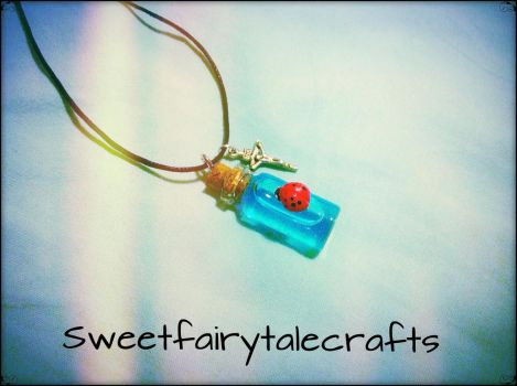 Easter bottle charm by Sweetfairytalecrafts