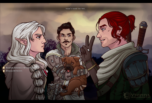 Dragon Age - Party - by vtophya