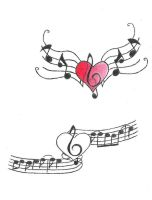 Musical Heart by nini1889