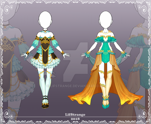 [Close] Adoptable Outfit Auction 198-199 by LifStrange