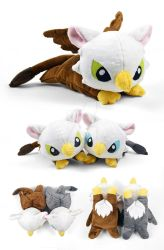 Griffin Plush by SewDesuNe