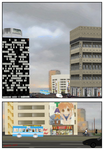 Royalty Free City download for Comi-po by Kyotita