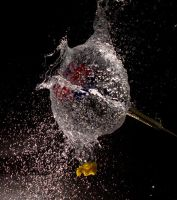 Balloon and dart by GeorgeAmies