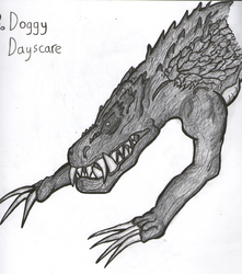 TonicTober Day 03 - Doggy Dayscare by Faulken