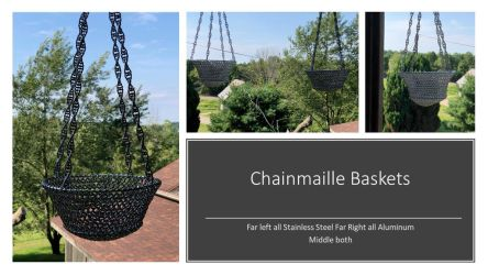 Chainmaille Baskets by graywolfsmaille