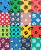 Seamless Photoshop Pattern Pack (transparent) by youmadeitreal