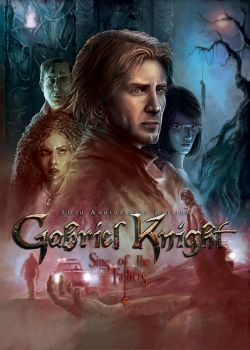 GABRIEL KNIGHT 20th Anniversary (Official Front) by Chris-Darril