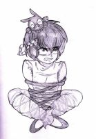 Ryoga in Ropes by CassyG