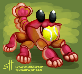 Puppy Crab by OnTheMountainTop