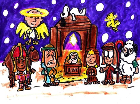 It's the Nativity, Charlie Brown by SonicClone