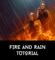 Dynamic Fire and Rain Tutorial by AbbeyMarie