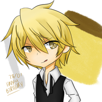 Happy Birthday, Shizuo! by worlddestroyingfire