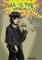 BILL IS THE WEREWOLF!!!! by sibbies