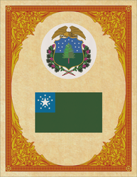 Seal and Flag of Vermont by ThaDrummer
