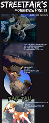 Commission info (CLOSED) by Streetfair