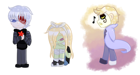 Drawing Some Chibis 2-Dead but Alive by Buttershy1