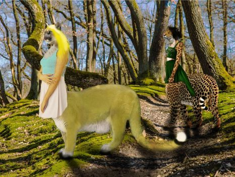 Goldfur  ForestWalker Tribute to CU by Macmaker101