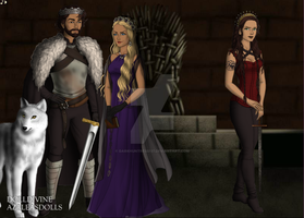 The 100 Game of Thrones AU