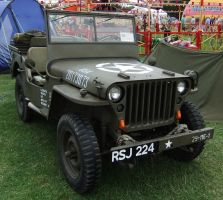 US WWII Jeep 3 by fuguestock