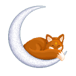 Foxy Moon by SmallFisher