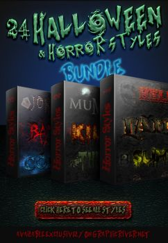 Halloween And Horror Styles - Bundle by survivorcz