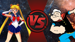 CFC|Sailor Moon vs. Popeye by Vex2001