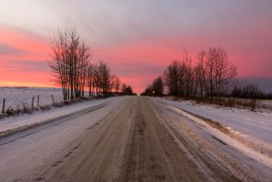 Sunrise Road by PixiePink0